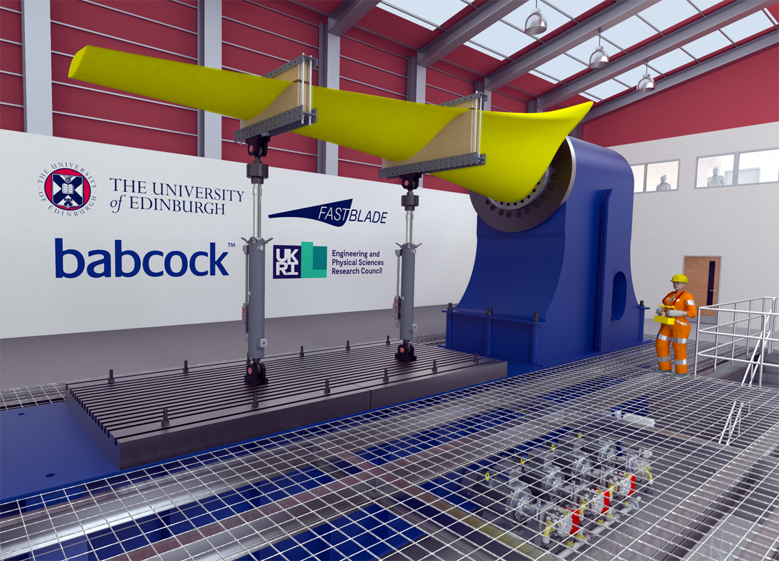 FASTBLADE, a structural composites research facility for full scale accelerated fatigue testing of tidal blades